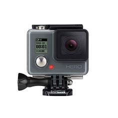 The GoPro HERO is GoPro's entry level action camera, but that's not to say it doesn't still pack a punch. If you are looking to dip into the world of action cameras without breaking the bank, then this could be the camera