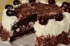A Black Forest Cake is a delicious combination of chocolate cake, Kirsch soaked Morello cherries, and loads of whipped cream.  From Joyofbaking.com With Demo Video