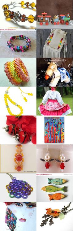 LACWE In full Color  by Monique on Etsy #handmade #lacwe #jewelry #accessories #fineart