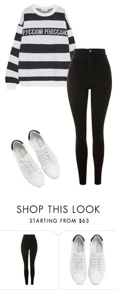 """""""Outfit"""" by elzikaa on Polyvore featuring Topshop and Prada #polyvoreoutfits"""