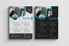 Corporate Flyer Template 01 by Rashad on Creative Market