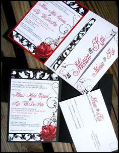 LOVe this wedding invitation!