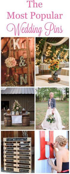 Most Popular Wedding Pins On Pinterest