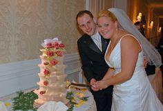 Eine Baumkuchen-Hochzeitstorte ist mal was anderes...