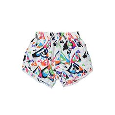c684d2ca53 These multi-colored women's board shorts swim trunks are perfect for this  summer. Features