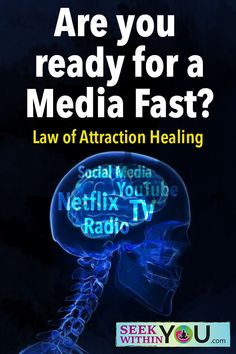 Does a media fast really relate to the law of attraction for healing? One law of attraction principle we teach is understanding your role in the health and healing process. Law Of Attraction Love, Attraction Quotes, Overcoming Anxiety, Spirit Science, Chronic Stress, Meditation Practices, Spiritual Guidance, Self Discovery, Stress Management