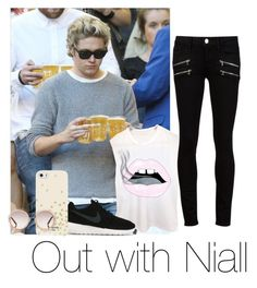 """Out with Niall"" by autumnfarmer on Polyvore featuring Paige Denim, NIKE, Kate Spade and Chloé"