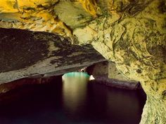 Rosh-Hanikra - Grottoes ~   At the top of  Israel, on the border with Lebanon