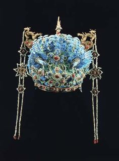 Phoenix Crown of the Empress Dowager Xiaojing, titled Imperial Noble Consort Wensu, Ming dynasty.