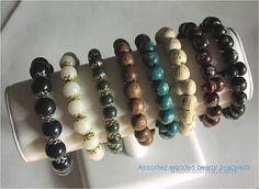 Wooden beads bracelets <3