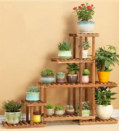 Versatile Indoor Plant Shelf, Decorative Wood Plant Stand Plant Holder on sale at reasonable prices, buy Versatile Indoor Plant Shelf, Decorative Wood Plant Stand Plant Holder from mobile site on Aliexpress Now! Indoor Plant Shelves, Garden Shelves, Indoor Plants, Wooden Plant Stands, Diy Plant Stand, House Plants Decor, Plant Decor, Garden Crafts, Garden Projects