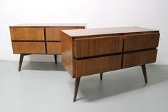 coppia di cassettiere produzione Italiana 1960