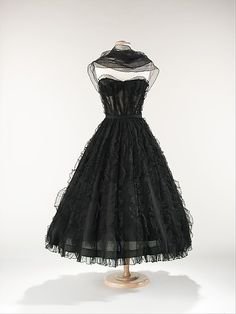 Evening Dress - Chanel, ca. 1957.