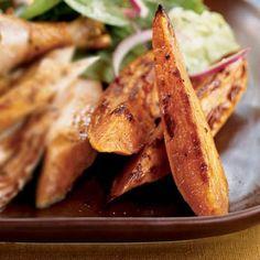 Spicy Sweet Potato Wedges Recipe