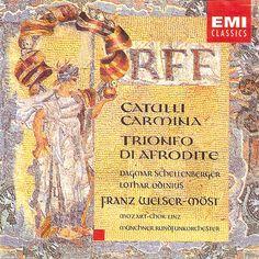 Orff: Catuli Carmina, Trionfo di Afrodite. Franz Welser-Möst, Münchner Rundfunkorchester, Mozart-Linz Chör. EMI