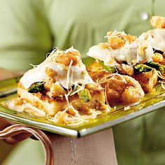 Learn how to make Shrimp-and-Grits Eggs Benedict. MyRecipes has tested recipes and videos to help you be a better cook Learn how to make Shrimp-and-Grits Eggs Benedict. MyRecipes has tested recipes and videos to help you be a better cook Southern Cooking Recipes, Cajun Recipes, Shrimp Recipes, Egg Recipes, Southern Food, Louisiana Recipes, Food Shrimp, Recipies, Southern Quotes