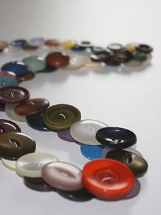 button necklaces to make | How to make your button necklace