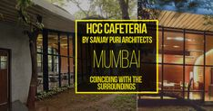 HCC Cafeteria by Sanjay Puri Architects: Coinciding with the surroundings #Architects #Urbanism #Urbandesigner #architecture #architecture-lover #architecture_hunter #architecturephoto #architecture_view #architecturephotography #architectures #architecture_best #architectureilike #architecturedaily #architecturewatch #architectureschool #architecturepicture #architecturedetails #architectureape #architectureart