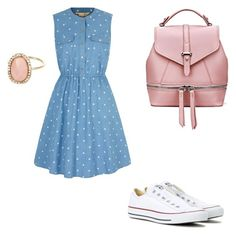"""""""Sporty style"""" by nataliya-mostriansky on Polyvore featuring Yumi, Converse and River Island"""