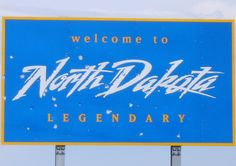 Welcome to South Dakota Sign | Welcome to North Dakota Sign (Sioux County, North Dakota) | Flickr ...