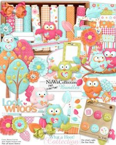 FQB - What a Hoot Collection - Nitwit Kits - Nitwit Collections™  um...this is really cute!