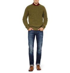 YMC Merino Wool and Cashmere-Blend Sweater | MR PORTER