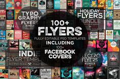 ••100+ Professional Flyer Templates & FB Covers•• by Zeppelin Graphics • only $19/$540! via MightyDeals (exp. 2015-12-14) • high-quality print-ready (300dpi / CMYK / 8.5 X 11 / bleed) flyers / fully layered PSD / 2 or more different color versions each • themes:  festivals / holidays / DJ events / clubs / parties etc • Styles: vintage to modern to typography etc •https://creativemarket.com/Zeppelin_Graphics