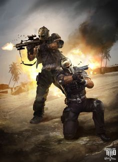 ArtStation - ARMY of TWO: The Devils Cartel, OPUS ARTZ