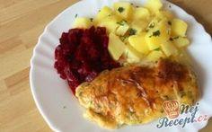 Pikantní kuřecí řízky s brambory | NejRecept.cz