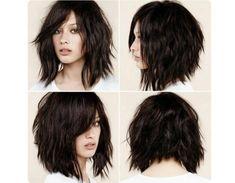 Modne fryzury średnie 2016 - śliczne cięcia z grzywką, cieniowane, bob - Strona 3