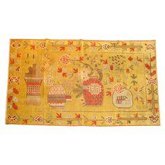 1stdibs | A yellow antique khotan rug