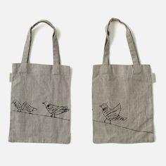 Animal Print Bag: Dove