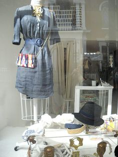 I want a denim dress.