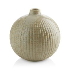Accessorize your home with vases from Crate and Barrel. Browse glass, ceramic and metal vases for table, wall and floor. Order online.
