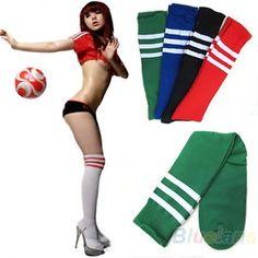 Hot-Soccer-Baseball-Football-Sport-Over-Knee-Ankle-Men-Women-Socks-8-Colors-BB4U