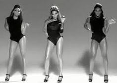 Single ladies (put a ring on it) by Beyonce/ If you liked it then you should've put a ring on it