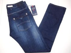 Armani Jeans slim fit men's jeans style J28 size 34x34 NEW on SALE  #ArmaniJeans #Slimfit