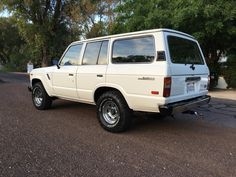 World meet Sally the whore. After working the LA streets for 163,000 miles, she finally retired in Scottsdale AZ. She loves her Christian Louboutin pumps and her brand new soft paint job, but really enjoys flirting with the other 19 Land Cruisers in her new garage.  #Toyota #LandCruiser #FJ60 #Fj62 #4x4 #BFGoodrich #Original #Factory