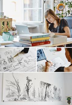 Inspiring Workspaces: Carolina Búzio and Theresa Grieben