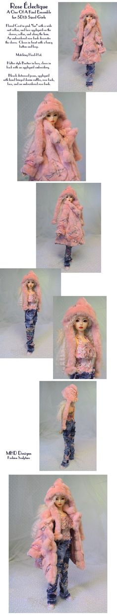 Eclectic Pink - an OOAK Ensemble by MHD; one of my favorite outfits; what's not to love?!