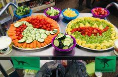 Dinosaur veggie and fruit trays Dinosaur veggie and fruit trays ideas party birthday baby boy Dinosaur First Birthday, 3rd Birthday Parties, Third Birthday, Birthday Ideas, First Birthdays, Fruit Trays, Dinosaur Dinosaur, Dinosaur Watermelon, Dinosaur Themed Food