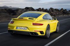 2017 Porsche 911 Turbo and Turbo S | Men's Gear