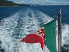 Leaving Miramare Castle...Trieste coast