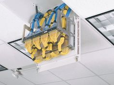 #Panduit PanZone® Passive In-Ceiling Enclosure – P Z I C E Server Rack, Network Cable, Cable Management, Computers, Projects To Try, Geek Stuff, Usb, Organization, Shop