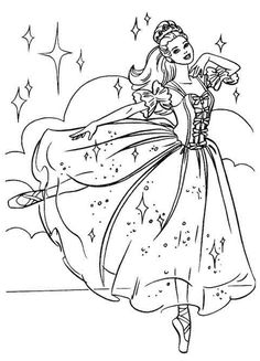I Know From The Requests Receive That Many Visitors To My Coloring Page Sites Love Ballet