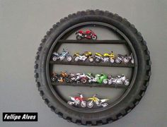 Awesome wall decoration. Tire. Mx. Dirtbike. by nola