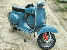 I hope my Vespa SS90 mine turns out this nice.