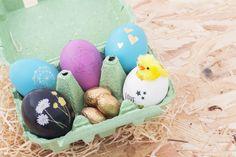 Des oeufs tatoués pour Pâques