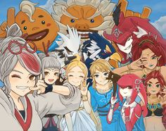 The Legend Of Zelda, Legend Of Zelda Memes, Legend Of Zelda Breath, Video Game Art, Video Games, Hyrule Warriors, Fire Emblem Characters, Breath Of The Wild, Manga Games