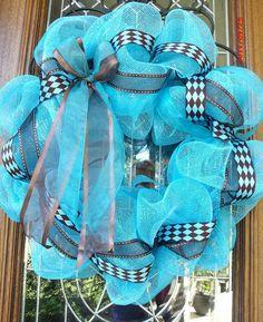 It's a Boy Hospital Wreath / Welcome Home / Nursery by lesleepesak, $35.00